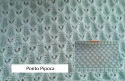 CARTELA PERFURADA PONTO PIPOCA  PARA RECOGER NA LANOFIX OU ELGIN
