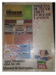 Manual Máquina de Tricô Lanofix SK326 em Português