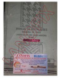 Manual Máquina de Tricô Lanofix SK 280 E SK 210 em Português