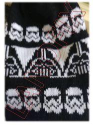 Cartela Perfurada Star Wars.