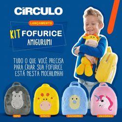 Círculo - Kit Fofurice (Amigurumi)