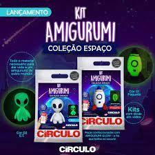 Kit Amigurumi Coleção Espaço